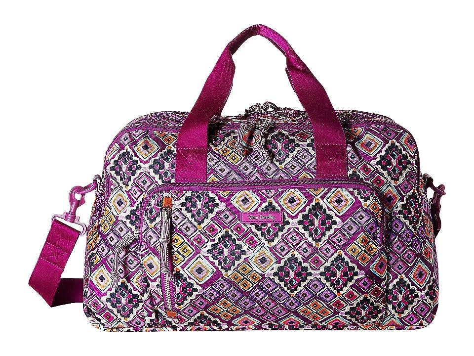 Vera Bradley Lighten Up Compact Weekender (Dream Diamonds) Weekender/Overnight Luggage, Multi