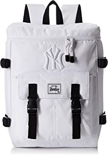 [MAJERRYG棒球]帆布背包 双肩包 双肩包 方形背包 洋基队 纽约 女士 男士 中性 男女皆宜 可爱 时尚 刺绣 大容量 上学 学生 成人 上班 旅行 YK-MBBK60