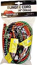 Taylor Gereedschap TAY-62036 Heavy Duty Bungee Koord 90cm/36 5 Pack, Set van 5 Stuks