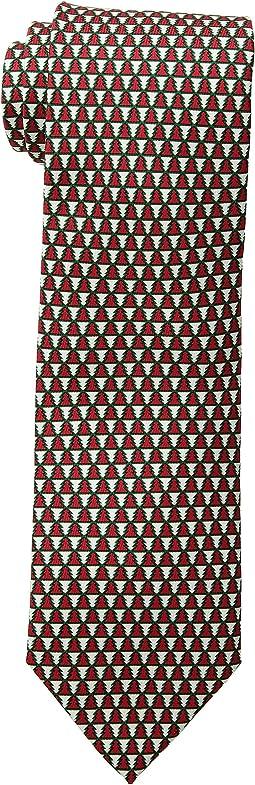 Geo Trees Printed Tie