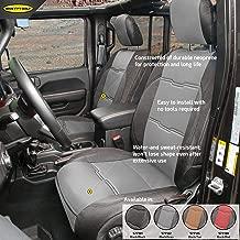 Smittybilt 577122, Front/Rear Charcoal/Black for 2018+ Jeep JL 4 Door, GEN2 Neoprene Seat Covers