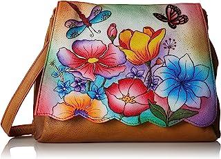 Anuschka Women's Scallop Flap Bag ANNA by Anuschka Cross Body Handbag