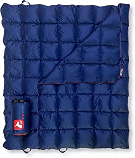 Horizon Hound Down Camping Blanket - Outdoor Lightweight Packable Down Blanket Compact Water Resistant and Warm for Campin...