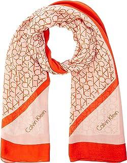 Calvin Klein CK Allover Logo Scarf Echarpe Femme