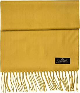 100% Cashmere Scarf Super Soft For Men And Women Warm Cozy Scarves Multiple Colors FHC Enterprize