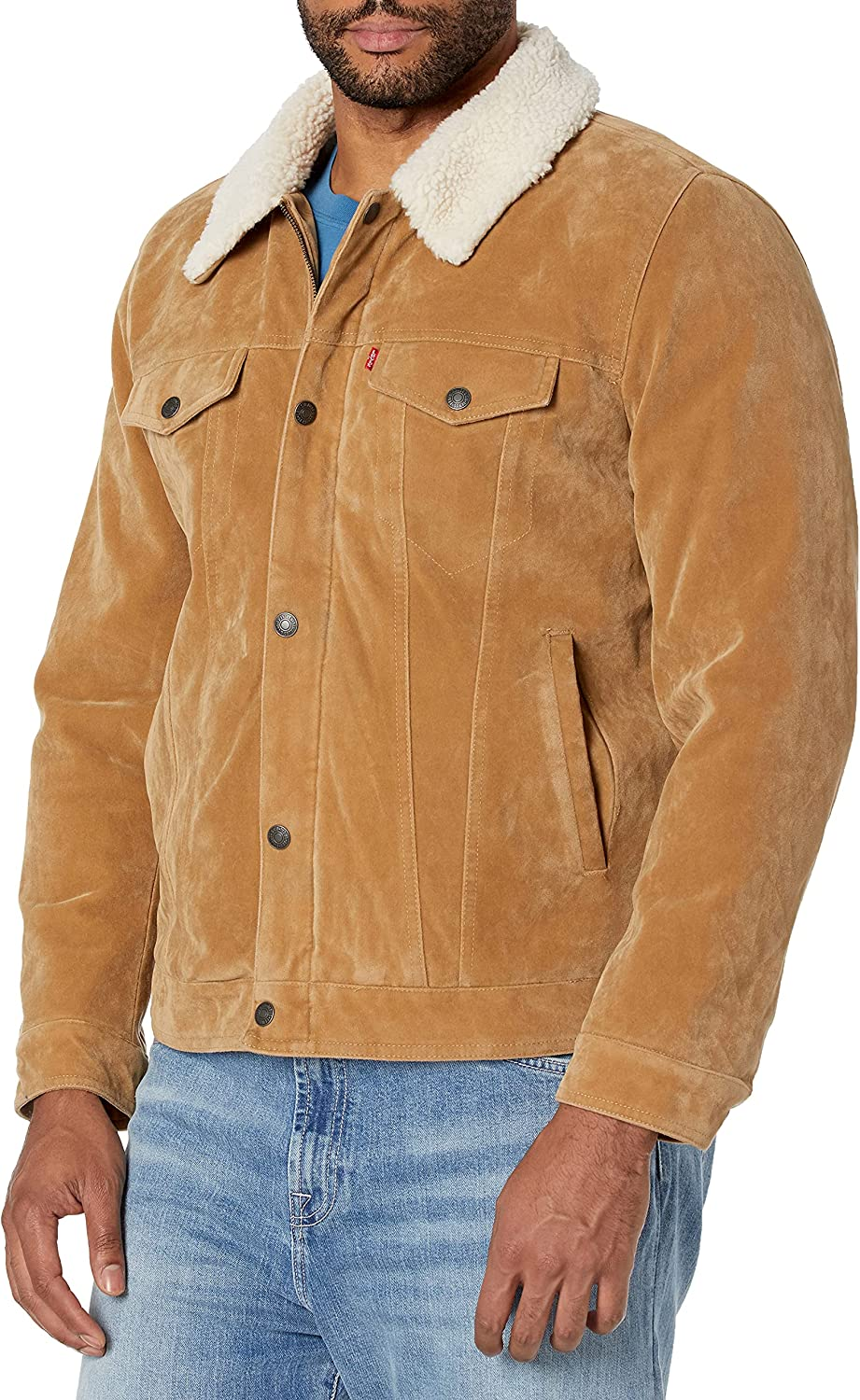 Levi's Men Ranking TOP7 Faux Leather Jacket Challenge the lowest price of Japan ☆ Trucker Sherpa