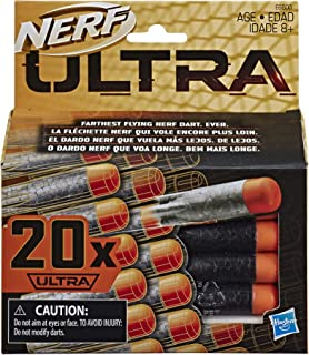 NERF Ultra One 20-Dart Refill Pack -- The Farthest Flying Darts Ever -- Compatible Only with Ultra One Blasters