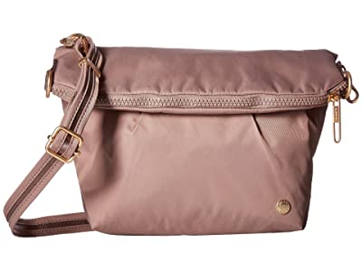 Pacsafe Citysafe CX Anti-Theft Convertible Crossbody (Blush Tan) Cross Body Handbags