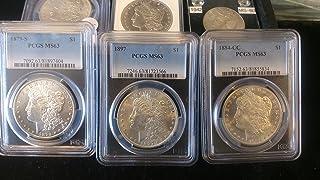 1897 Various Mint Marks Morgan dollar MS63