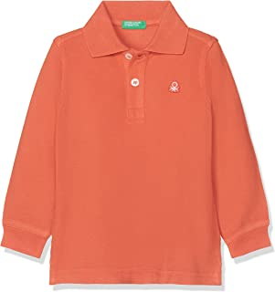 United Colors of Benetton Erkek Çocuk Benetton Logo Pike Polo Tişört