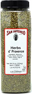 9 Ounce Herbes de Provence with Lavender Herbs Seasoning Spice Blend