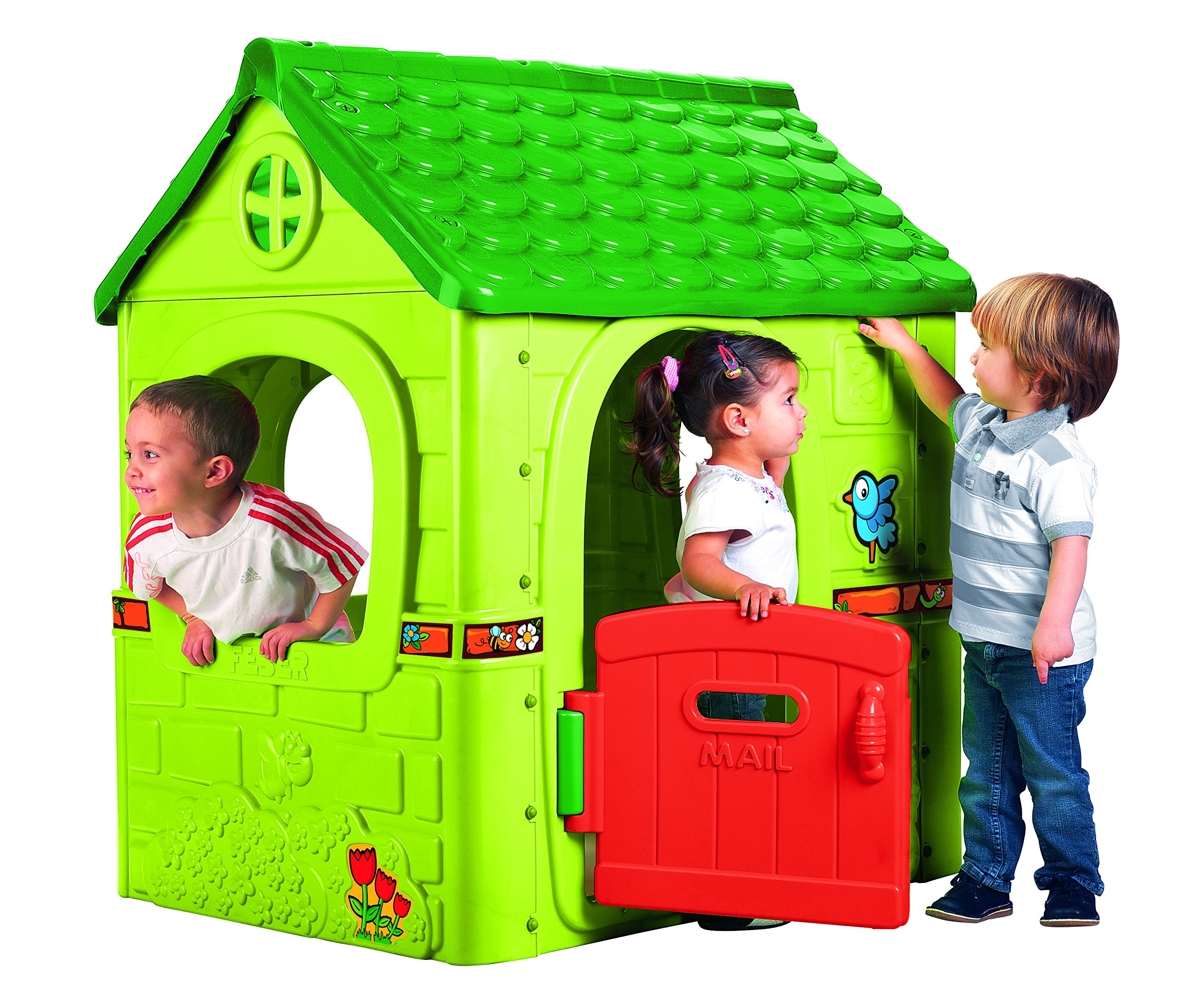 FEBER - Casita de fantasía (Famosa 800008570): Feber - 800008570 - Jeu de Plein Air - Fantasy House: Amazon.es: Juguetes y juegos