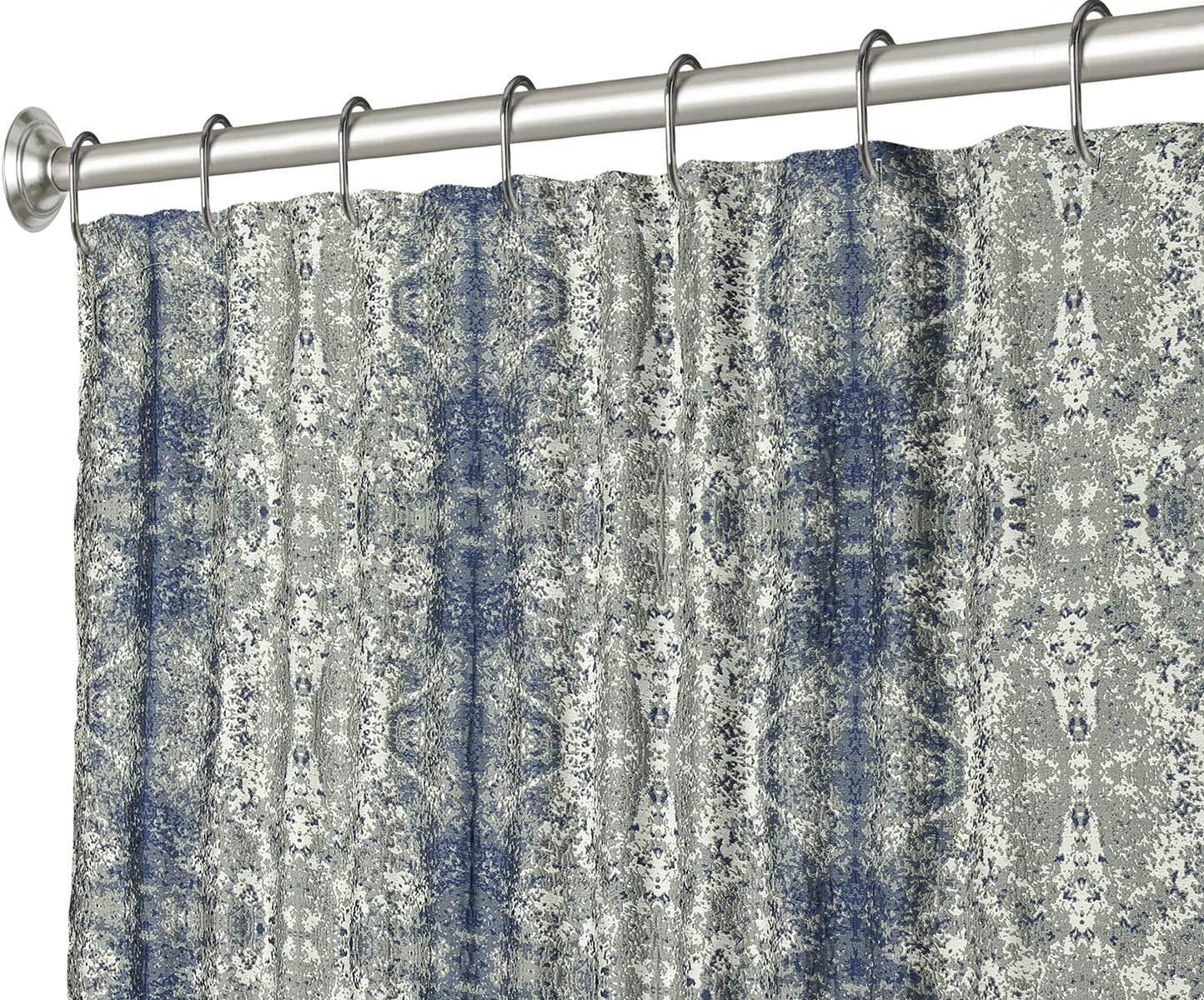 Extra Long Shower Curtain Blue Popular product Inch Translated - 84 R Fabric