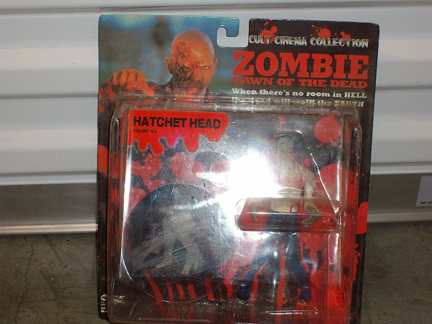 Dawn Of The Dead Zombie Action Figure  3  Hatched Head