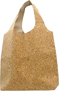 Handmade Cork Shoulder Strap Tote Bag - Style 2 - Friendly Handmade Cork Products