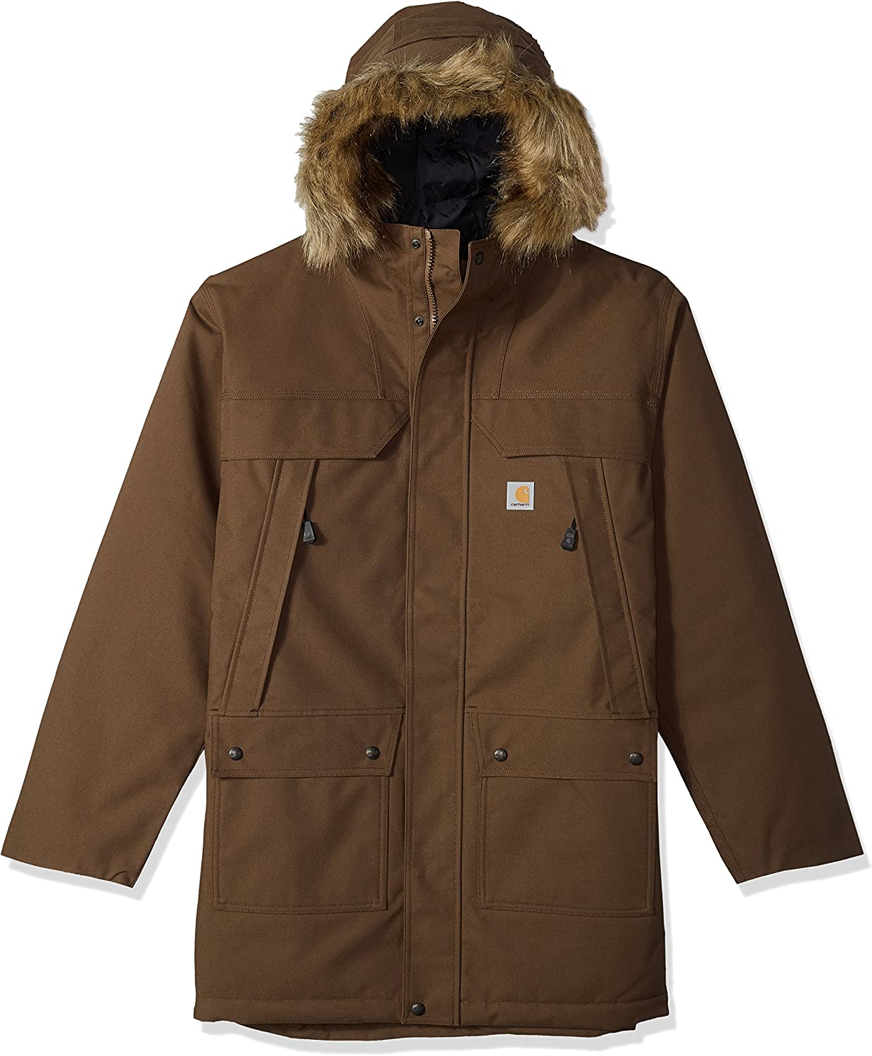 Max 64% OFF Carhartt Men's Big Tall Duck Quick Parka Outlet SALE Sawtooth