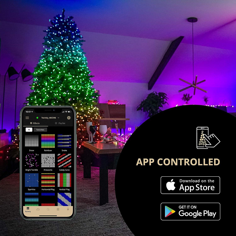 Twinkly Luces de Navidad Controlada Desde App