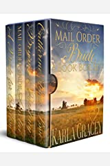 Mail Order Bride 4 Book Box Set: Sweet Clean Historical Western Mail Order Bride Mystery Romance Kindle Edition