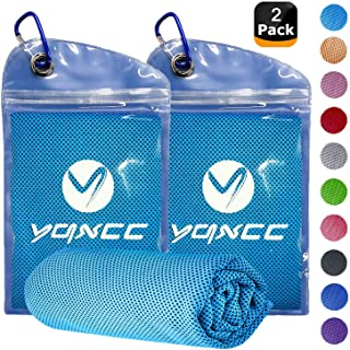 Various Colors Pursuit Stay Cool Ice Gym Sports Jogging Cooling Towel Simple