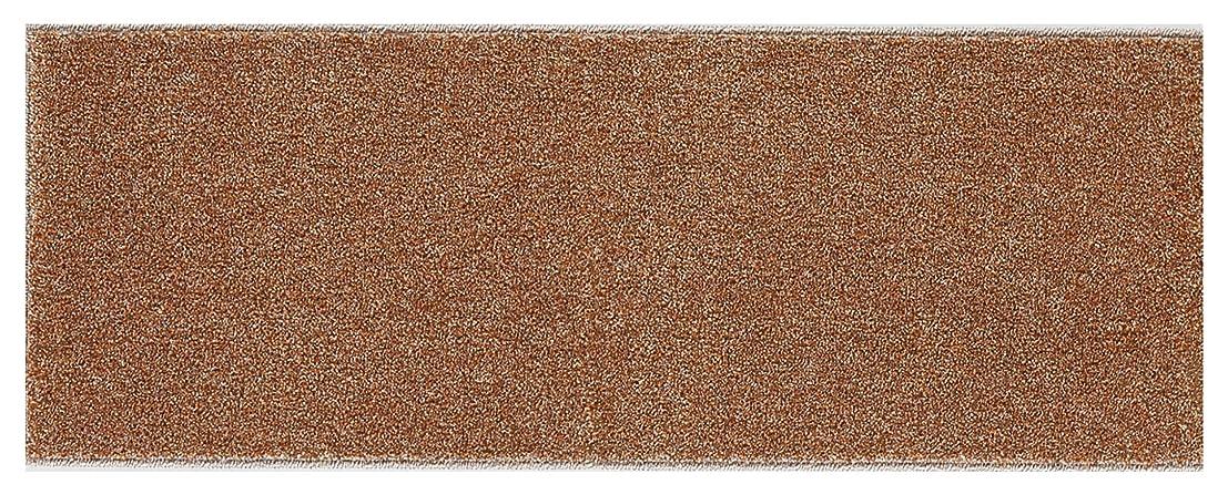 崇拝しますバラ色経験者スミノエ キッチンマット ソリッディ- 45×240cm ブラウンオレンジ 13126512