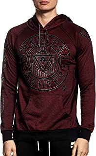 Northbridge Linear Long Sleeve Sport Graphic Pullover Hoodie For Men By Affliction