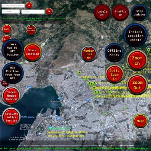 Friend Locator & GPS Tracker Military Level