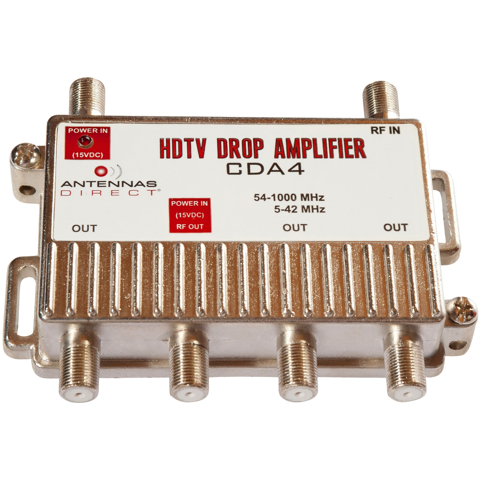 Port DTV Distribution Amplifier CDA4