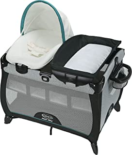Graco Pack 'n Play Playard | Includes Portable Napper, Full-Size Infant Bassinet, and Diaper Changer, Darcie