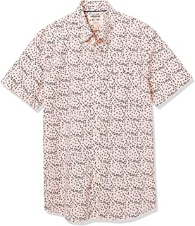 Goodthreads Slim-fit Short-Sleeve Printed Shirt Hombre