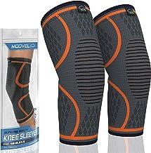 فشرده سازی زانو آستین فشرده سازی Modvel (1 جفت) - تأیید FDA ، حمایت از بریس زانو برای آرتروز ، ACL ، دویدن ، دوچرخه سواری ، ورزش های بسکتبال ، تسکین درد مفاصل ، پارگی منیسکوس ، ترمیم سریعتر آسیب.