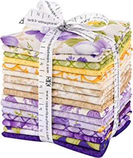 Bedford Terrace Wisteria Colorstory Charm Pack 42 5-inch Squares by Hyun Joo Lee for Robert Kaufman Fabrics