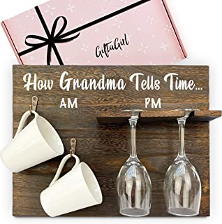 Very Popular Grandma Gifts from Grandchildren or Grandma Birthday Gifts. It's a Cheeky Gift for Grandma, but The Best Gran...