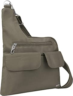 Anti-Theft Classic Crossbody Bag - Nutmeg - Polyester