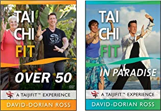 Bundle: Tai Chi Fit OVER 50 & PARADISE (YMAA) David-Dorian Ross Yang-Style Tai Chi Workouts