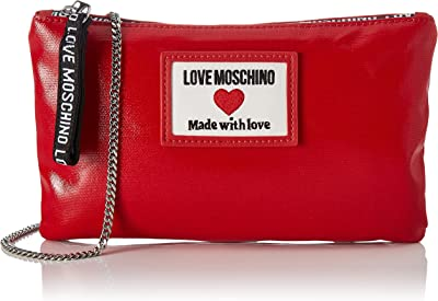 Love Moschino SS21, Schultertasche für Damen, Kollektion Frühling, Sommer 2021, mehrfarbig, Normal