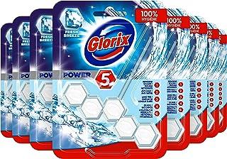 Glorix Power-5 Toiletblok Power Hygiene - 9 stuks - Multipack