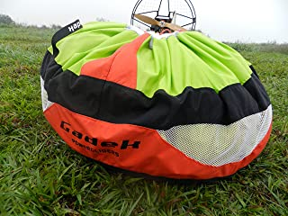 gadek Single Wings Fast Stuff Sack for Paragliding Paramotor PPG Powered garagliding (Size:S Red)