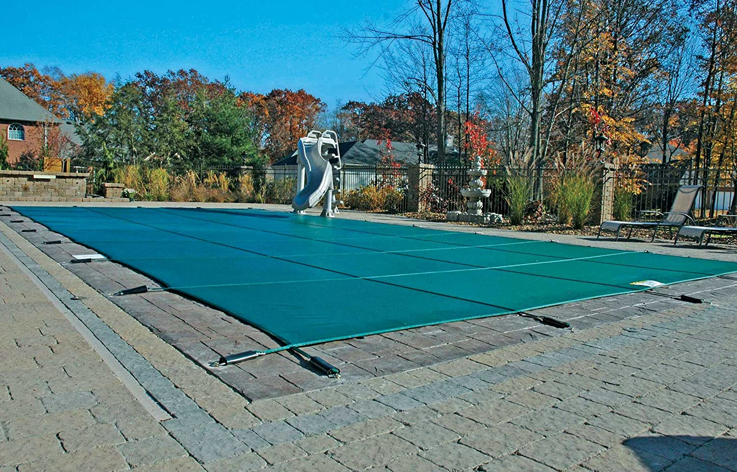 15 x 30 Foot. Rectangle Cover Safety SALENEW very Selling rankings popular Pool Mesh