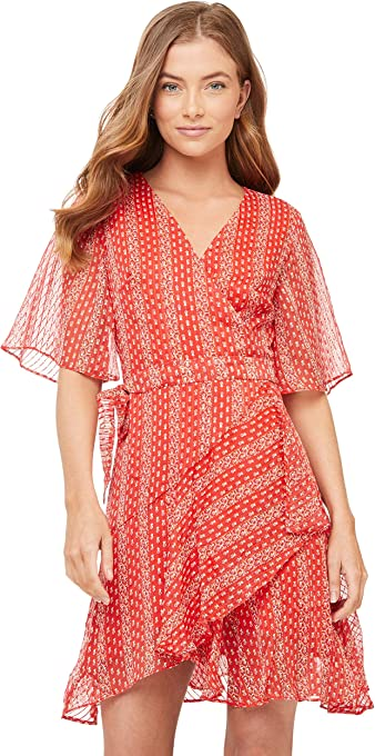 Cooper St Women's Sutton Wrap Mini Dress
