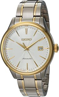 Seiko Men's Japanese Automatic Stainless Steel Casual Watch, Color:Two Tone (Model: SRP704)