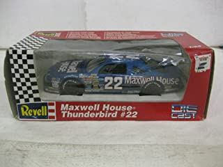 Sterling Marlin #22 Maxwell House Ford Thunderbird Nascar In Blue Diecast 1:24 Scale By Revell