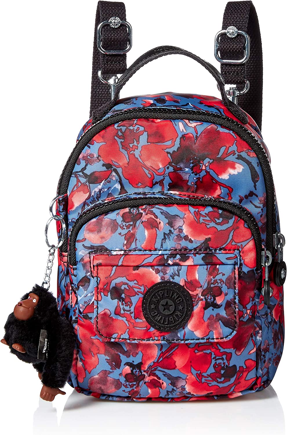 Kipling womens Alber 3in1 Congreenible Mini Bag Backpack