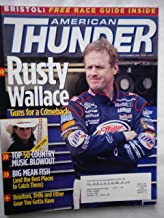 American Thunder April 2004, Country Music Special, Rusty Wallace, Big Mean Fish, Bourbon, Drills and Other Gear You Gotta Have
