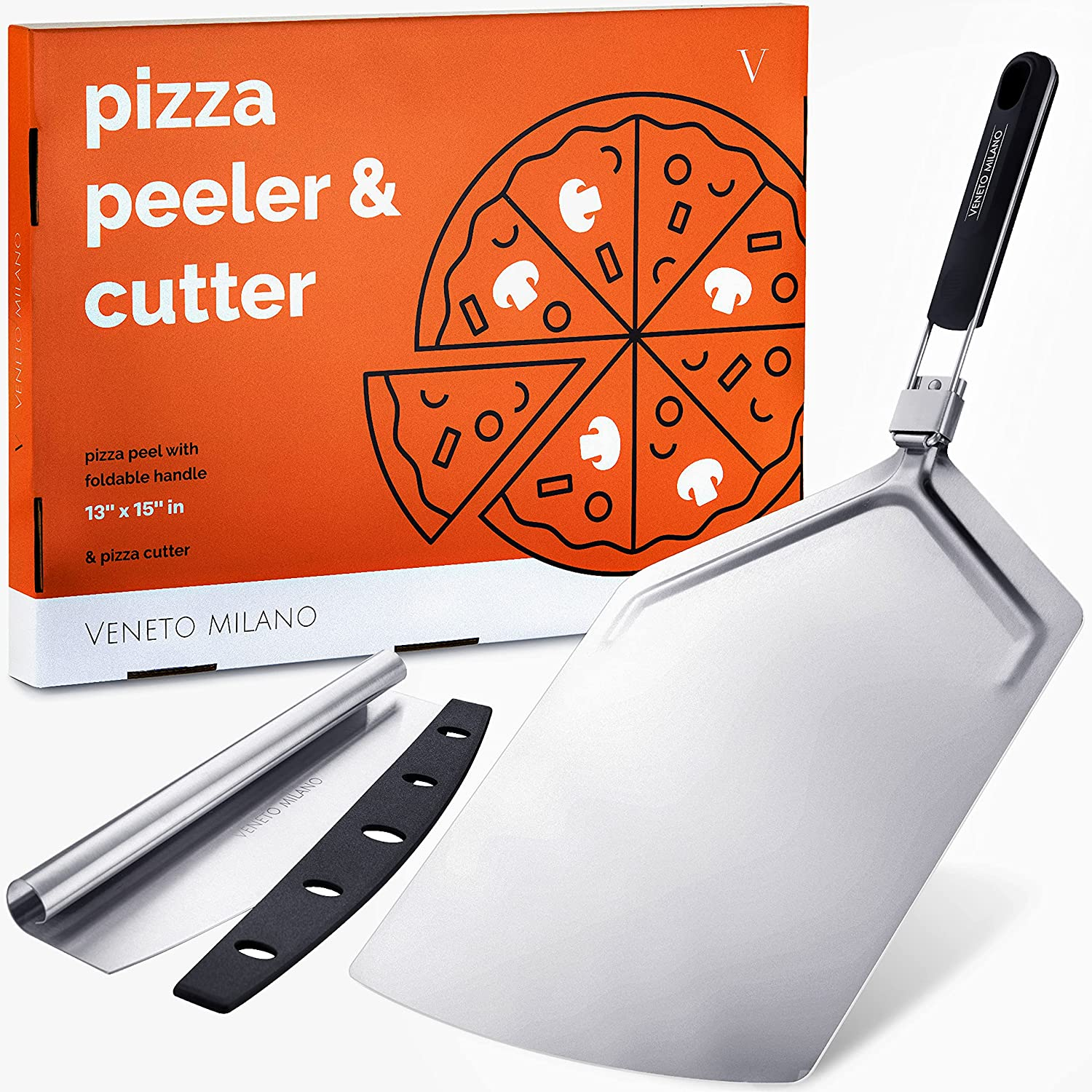 Veneto Milano Inexpensive - Extra Large Pizza Cutter P 16 New product type Inch Peel