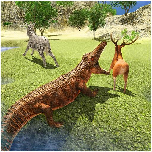 Verärgerte Crocodile Angriff Simulator 2016