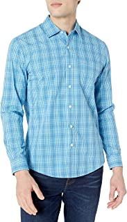 Camisa de Popelín Casual de Manga Larga - Button-Down-Shirts Hombre