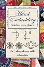Hand Embroidery Stitches At-A-Glance PDF