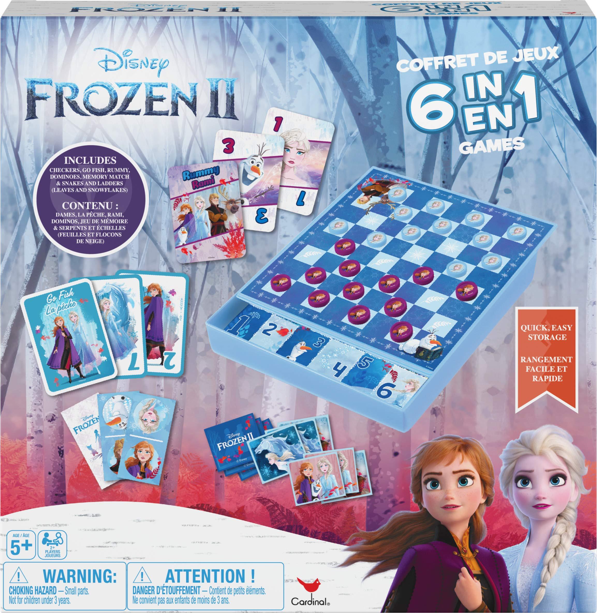 Disney Frozen 2 Press O Matic Pop N Hop Traditional Family Fun Action Board Game