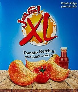 Xl Potato Chips Tomato Ketchup - 14 x 26 gm