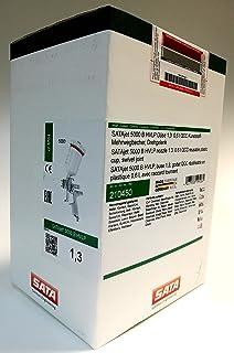 SATA Jet 5000W HVLP Gun DÃ ¼ SE 0.6L QCC Plastic Reusable Cup Swivel